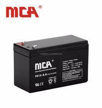 Top quality 12V 6.5Ah mini rechargeable/dry cell battery/ups battery prices in pakistan