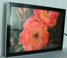 55inch LCD wall mounted indoor digital advertising screen for hotel supermarket shopping mall