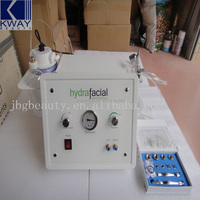 Factory price jet peel water oxygen skin rejuvenation microcurrent face care lift beauty machine
