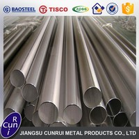 trade assurance supplier iso manufacturer 310s stainless steel round square pipe in china