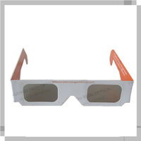 Paper 3D circular polarized glasses with different shape