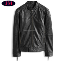 man leather jacket with buckle,genuine leather for men,jacket leather for motor cycle men