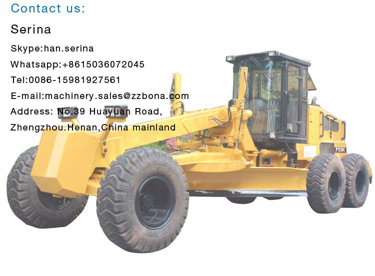 Cabin With Air Conditioner Timer High-Effective Motor Graders