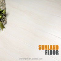 White Laminate Flooring with Advanced German Technology