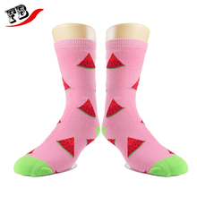 High quality combed cotton knitted dress socks make your own designs