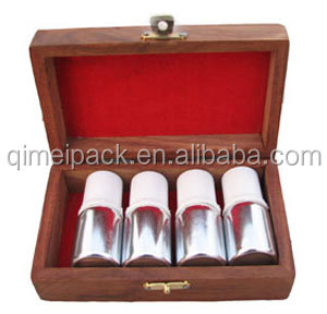Custom handmade wooden lacquered wooden perfume gift box