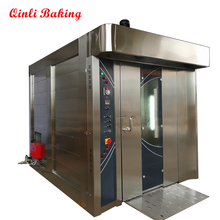 32 trays gas oven of rotary oven to make 2400 pcs bread per hour