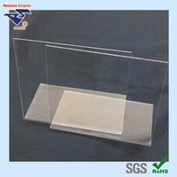 Clear PS plain sheets/boards/panels for plastic slant photo frame