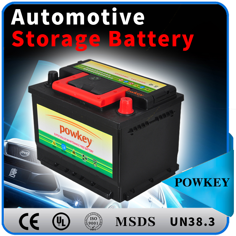 12V 100AH Dry Charged Car Battery storage battery automotive