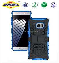 2 in 1 hybrid armor shockproof case for samsung galaxy note 7