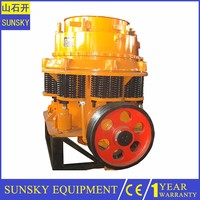 Cheap mini cone crusher for sale , marble tire cone crusher machine