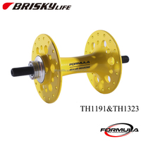 Colorful fixed gear bike hub with high quality