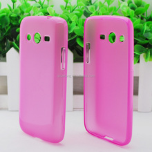 Mobile phone tpu case with inner scrub for Sumsung G386F
