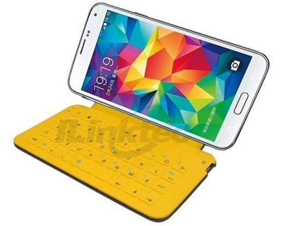 Colored bluetooth keyboard case for samsung galaxy s4
