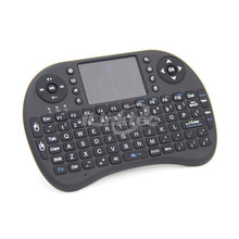 Factory price 2.4GHz AZERTY Wireless Keyboard with Touchpad
