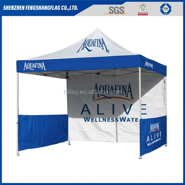 Cheap custom outdoor 10x10 pop up canopy folding tent for advertising