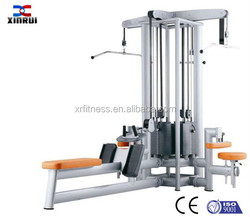 New Commercial Multifunction Bodybuilding Machine 4-Station multi gym exercise equipment