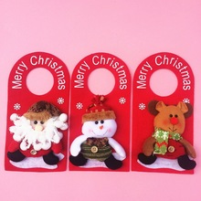 SD206 Merry christmas/Lovely christmas snowman , santa claus,reindeer door hanging/christmas decoration hanging door