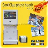 Wedding/Party Portable photo booths with 3d software