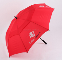 Honsen china umbrella high quality supplier taobao silk print golf sports umbrella with car logo