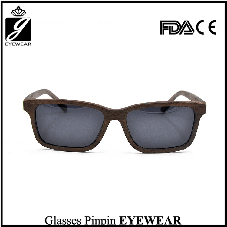 High Quality Fashionable Hinge PC Frame Custom Bamboo Wood eyeglasses Wholesale In China eyeglasses