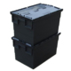 Heavy Duty 70L Storage Packing Plastic Transparent Boxes