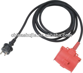made in china Industrial extension cord manufacture