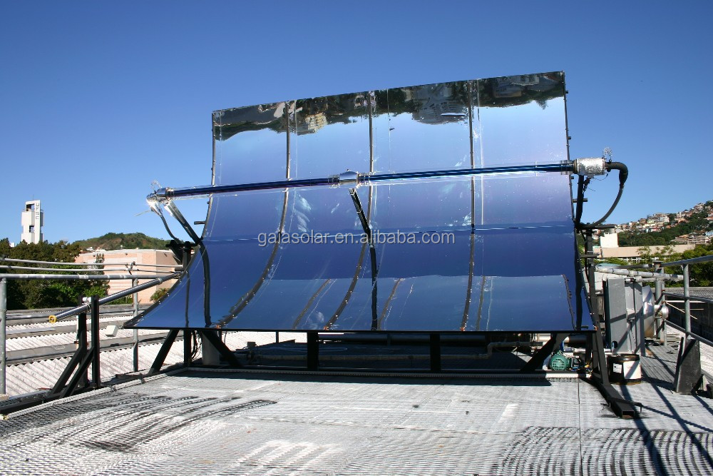 Concentrated solar power parabolic trough solar collector