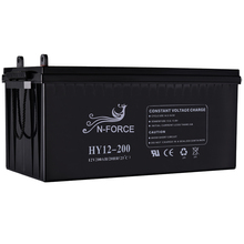 High quality lead acid deep cycle gel solar power battery 12v 200ah China