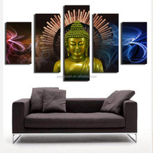 creative modern buddha oil painting art ,printed canvas buddha giclees wall art