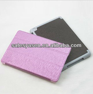 Leather pouch case for ipad mini with various color avaliable