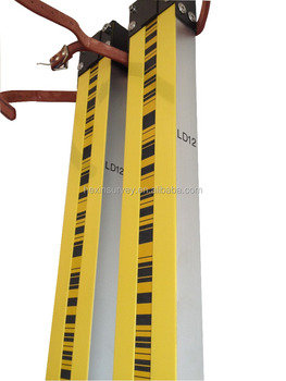 High accuracy Trimble LD12 invar barcode leveling staff have a good price