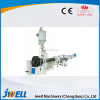 Jwell HDPE/PP/PVC Horizontal Type Pipe Polythene Extruder Machine
