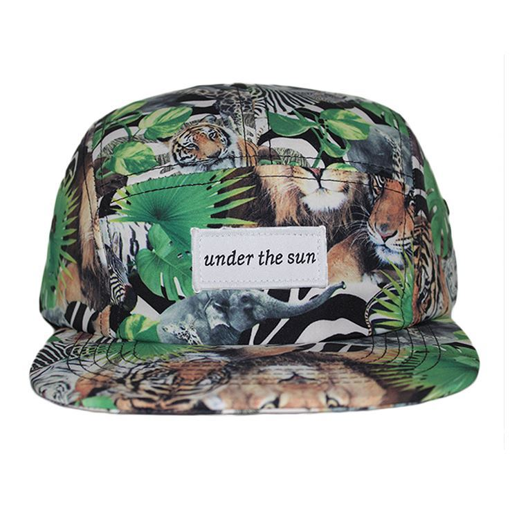 Custom Blank 5 Panel Camp <strong>Caps</strong> Hats /Custom headwear five panel blank camp <strong>cap</strong>/camo flat brim <strong>cap</strong>