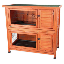 2015 Lastest design wooden rabbit cage, pet house, rabbit cage WJRC-09