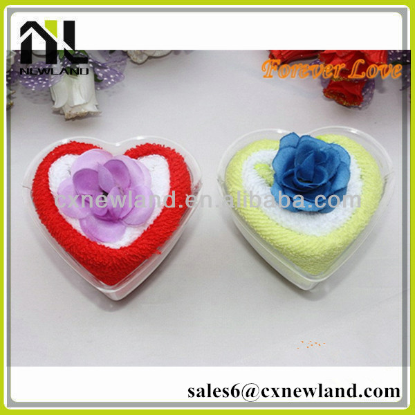 wholesae cheap towel promotion birthday wedding door gift