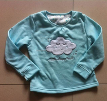 Children's hot pajamas suits and baby cotton knit sleepwear