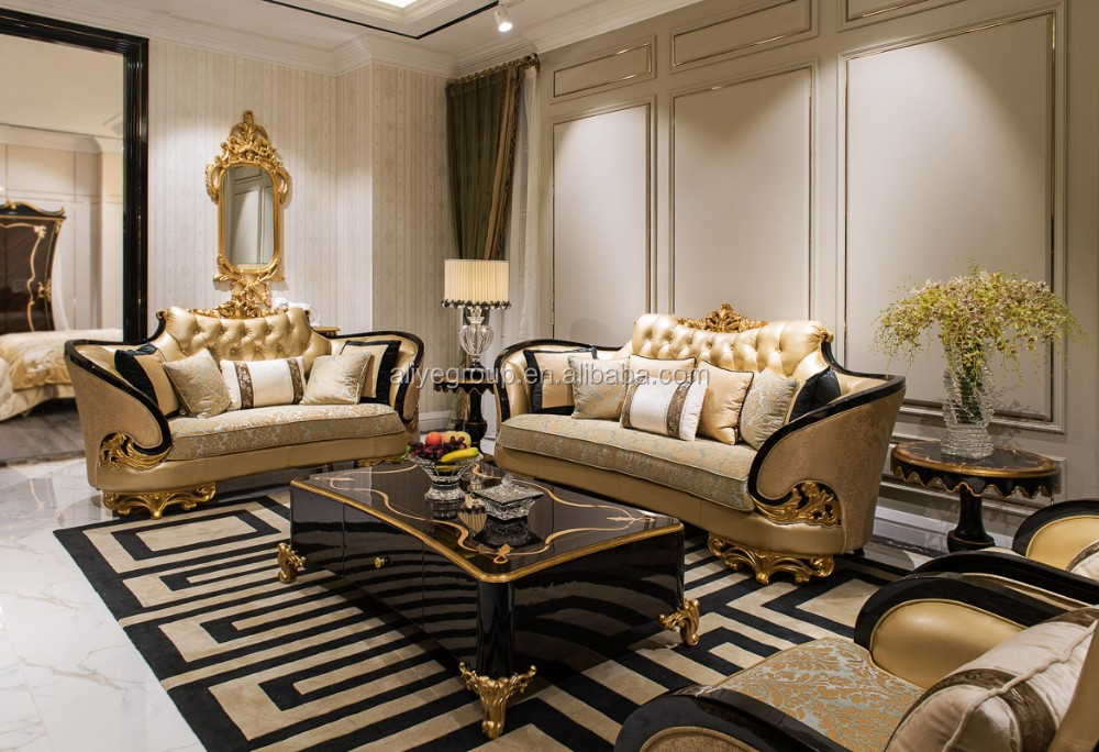 as06 high end royal living room furniture sets and dubai leather sofa furniture buy high end. Black Bedroom Furniture Sets. Home Design Ideas