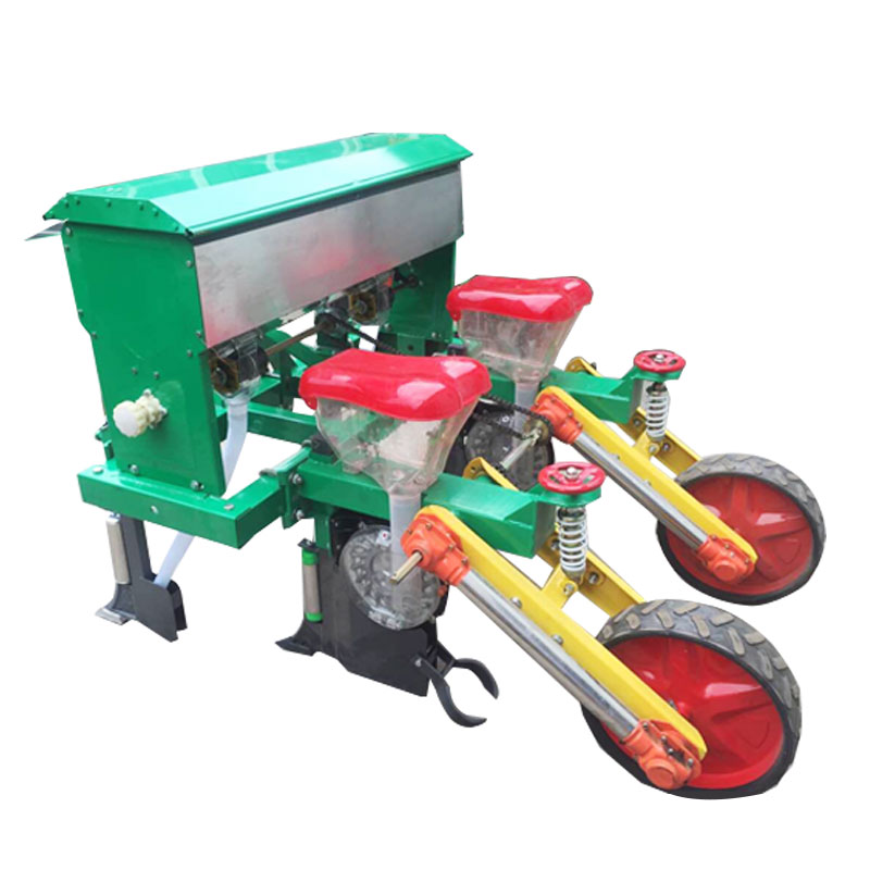 5 rows corn seeds planter
