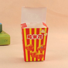 cheap card box paper packaging for fried chicken