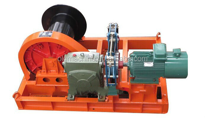 3 ton electric worm gear winch with failsafe brake