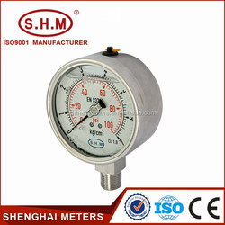 price fuel bourdon tube pressure gauge