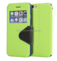 2015 hot sell TPU+PU leather Fashion leather mobile phone case for iphone 6 CO-LTC-1024