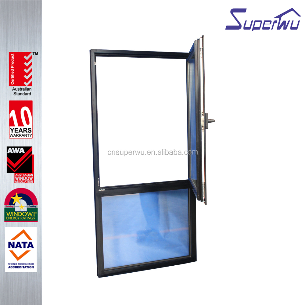 Modern house aluminium tilt and turn window /australia standard tilt and turn windows for sale