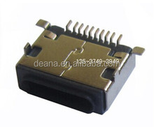Iphone 5s Mobile 10 Pin Female SMT connector