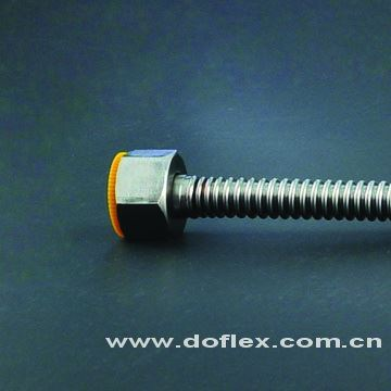 Doflex ACS SGS CE certificate high quality corrugated stainless steel rubber hose