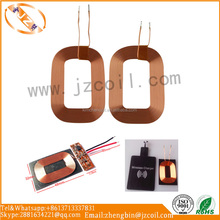 Customized Mobile charger air coil inductive qi wireless charging coil