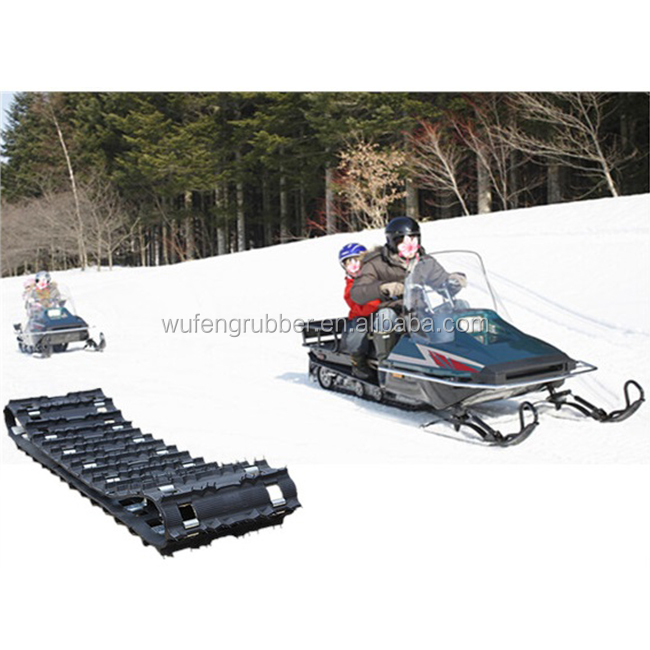 Snowmobile rubber track industry factory in China