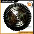 vacuum casting turbocharger parts nickel base alloy turbine disk