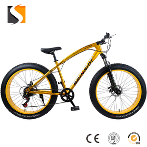 2018 Top Quality New Fashion 26'' Fat Tire Bicycle/Mountain Bike with Powerful Disc Break